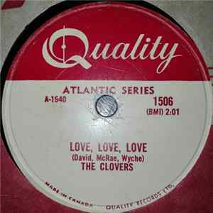 The Clovers - Your Tender Lips / Love, Love, Love Album