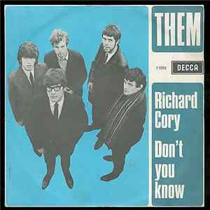 Them - Richard Cory / Don't You Know Album