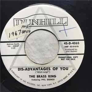 The Brass Ring Featuring Phil Bodner - The Dis-Advantages Of You / The Dating Game Album